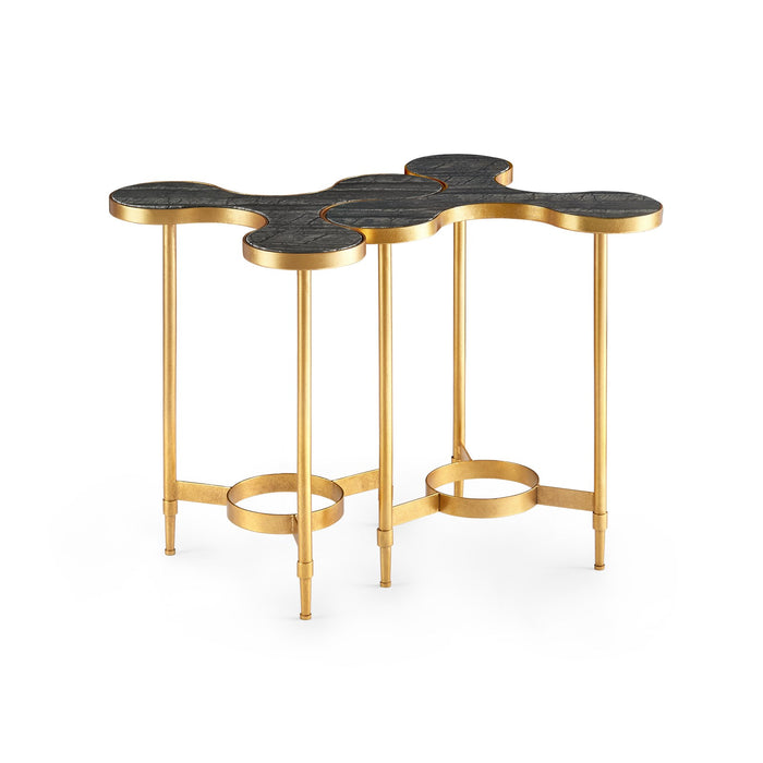 bungalow 5 side table black in pairs