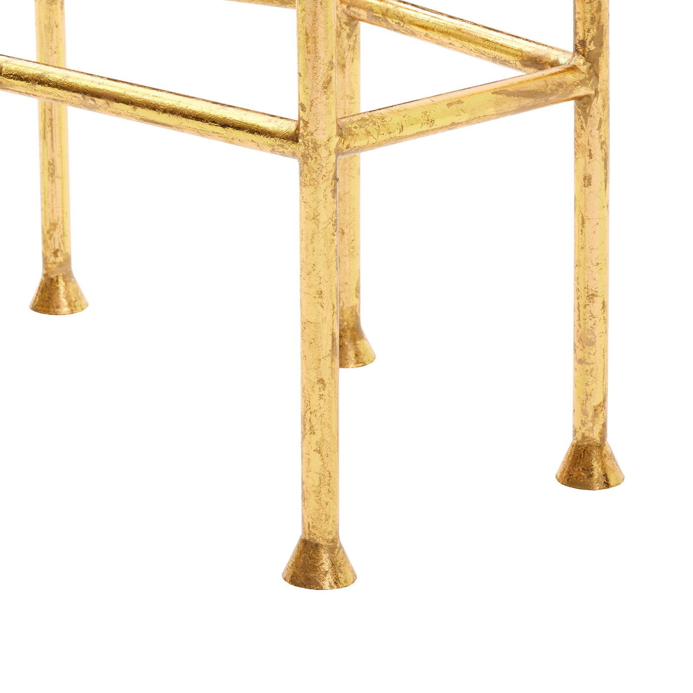 bungalow 5 cristal side table gold legs