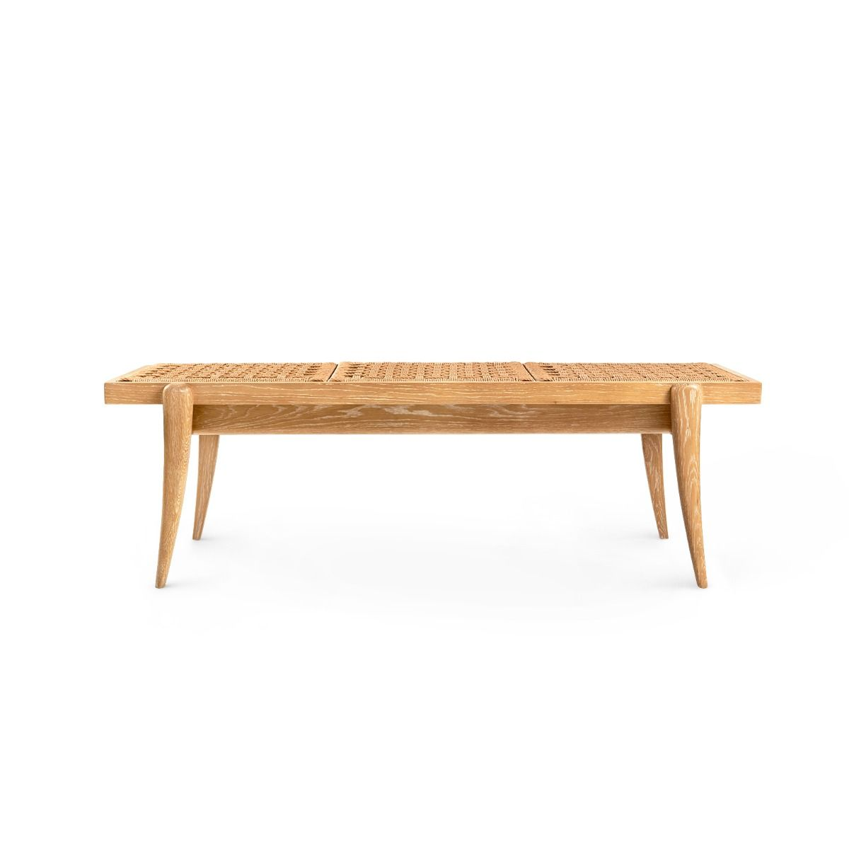 bungalow 5 dylan bench natural front