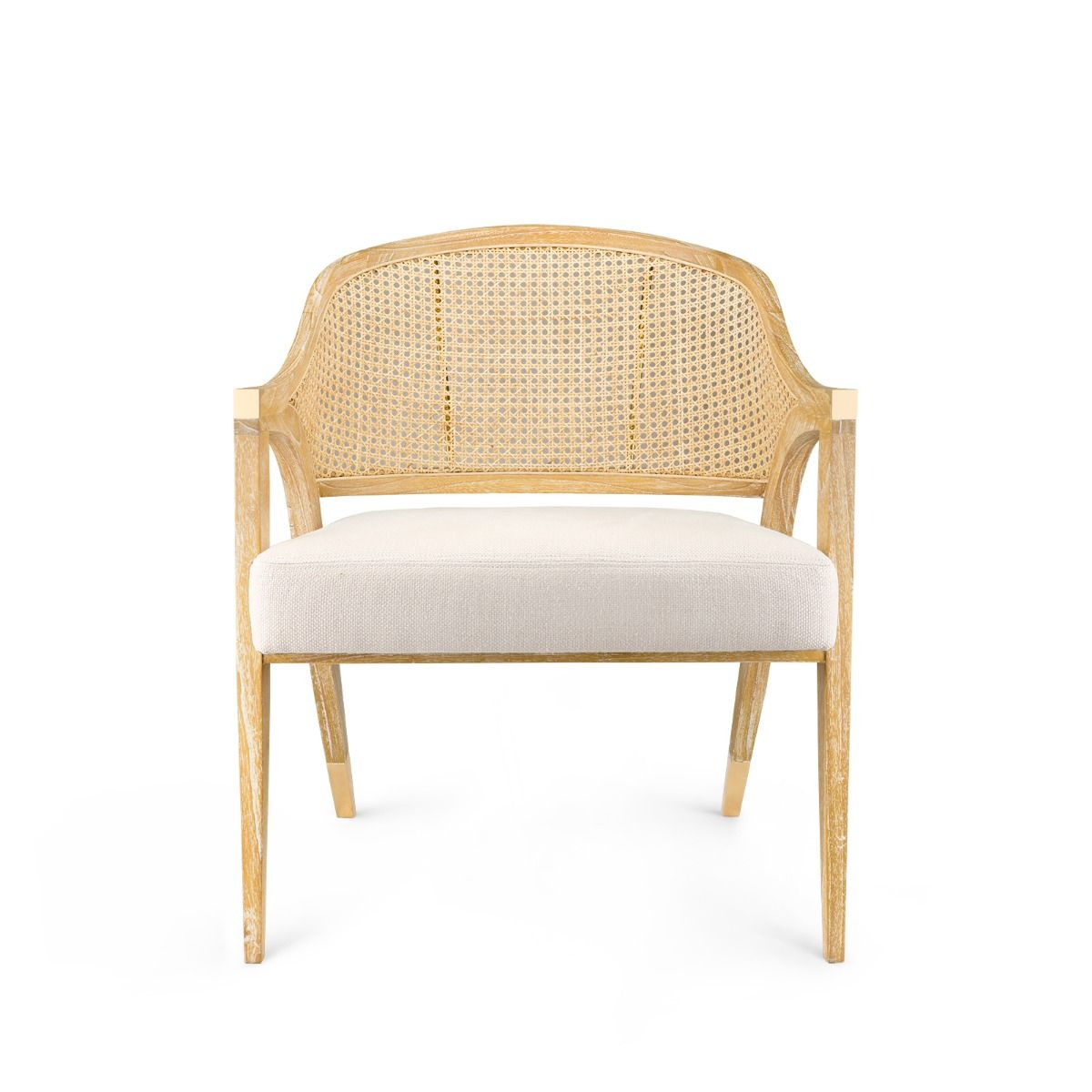 bungalow 5 edward chair  natural front