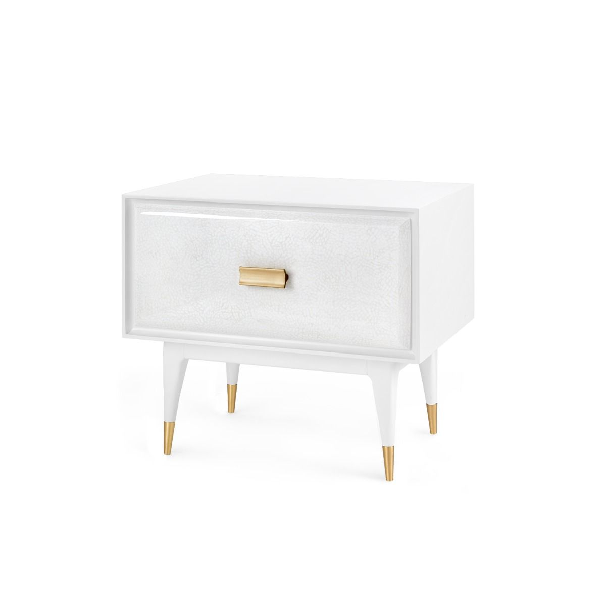 bungalow 5 elisa side table white angle