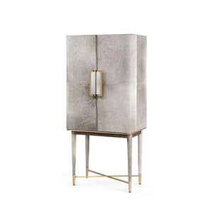 bungalow 5 florian tall bar cabinet gray angled
