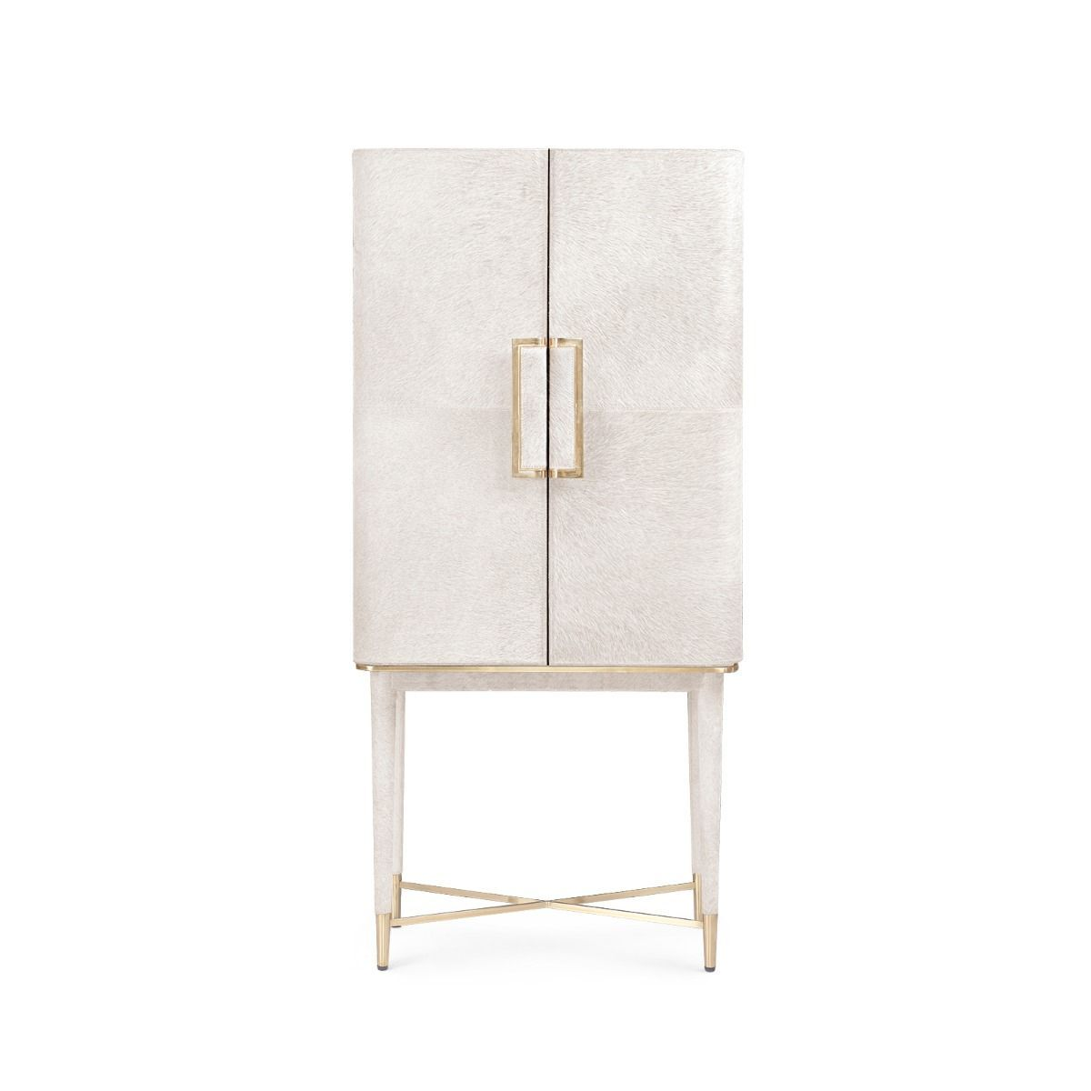 bungalow 5 florian tall bar cabinet white forward facing