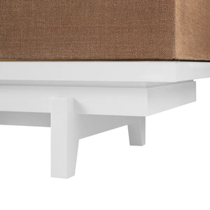 bungalow 5 grant three drawer side table legs