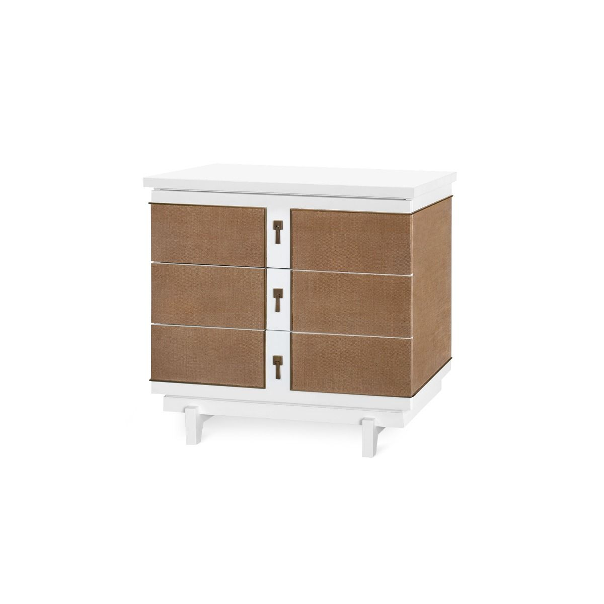 bungalow 5 grant three drawer side table