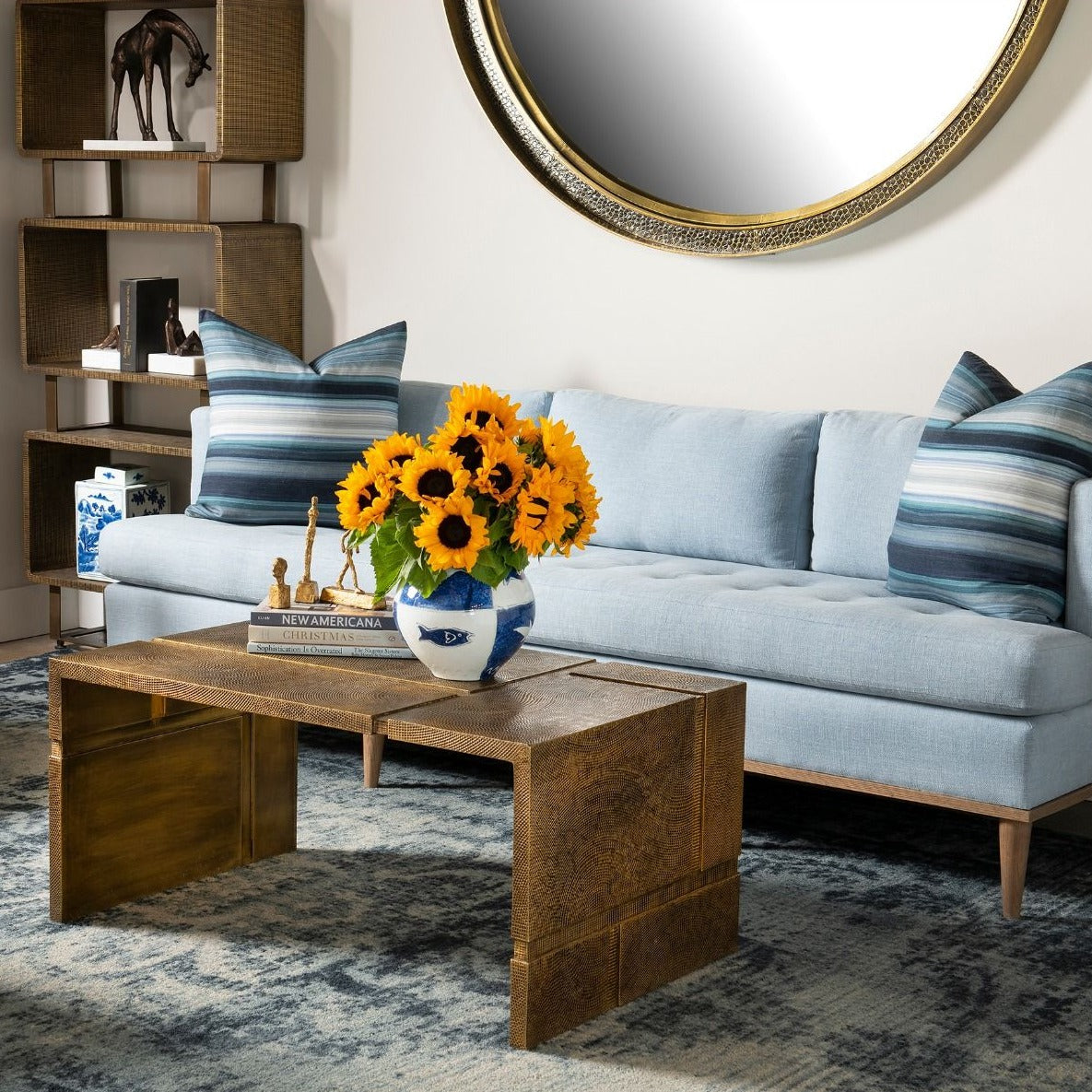 bungalow 5 hollis coffee table styled
