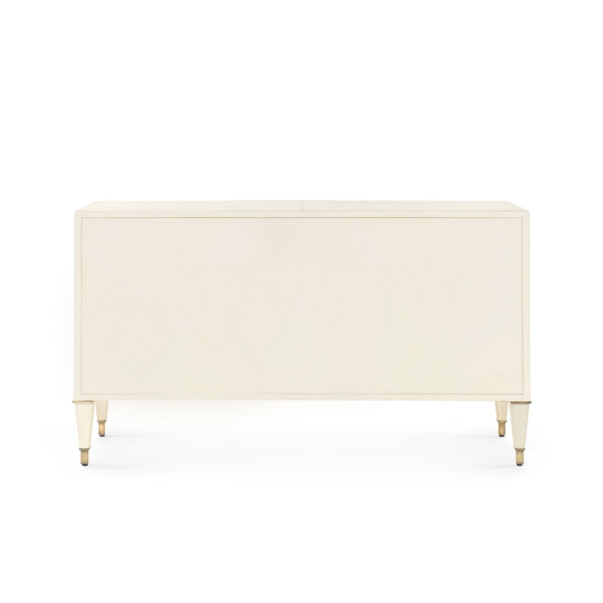 bungalow 5 hunter extra large 6 drawer chest ivory