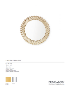 bungalow 5 icarus mirror gold tearsheet