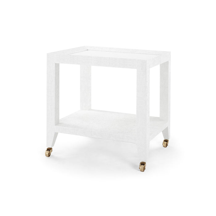 bungalow 5 isadora tea table white angle