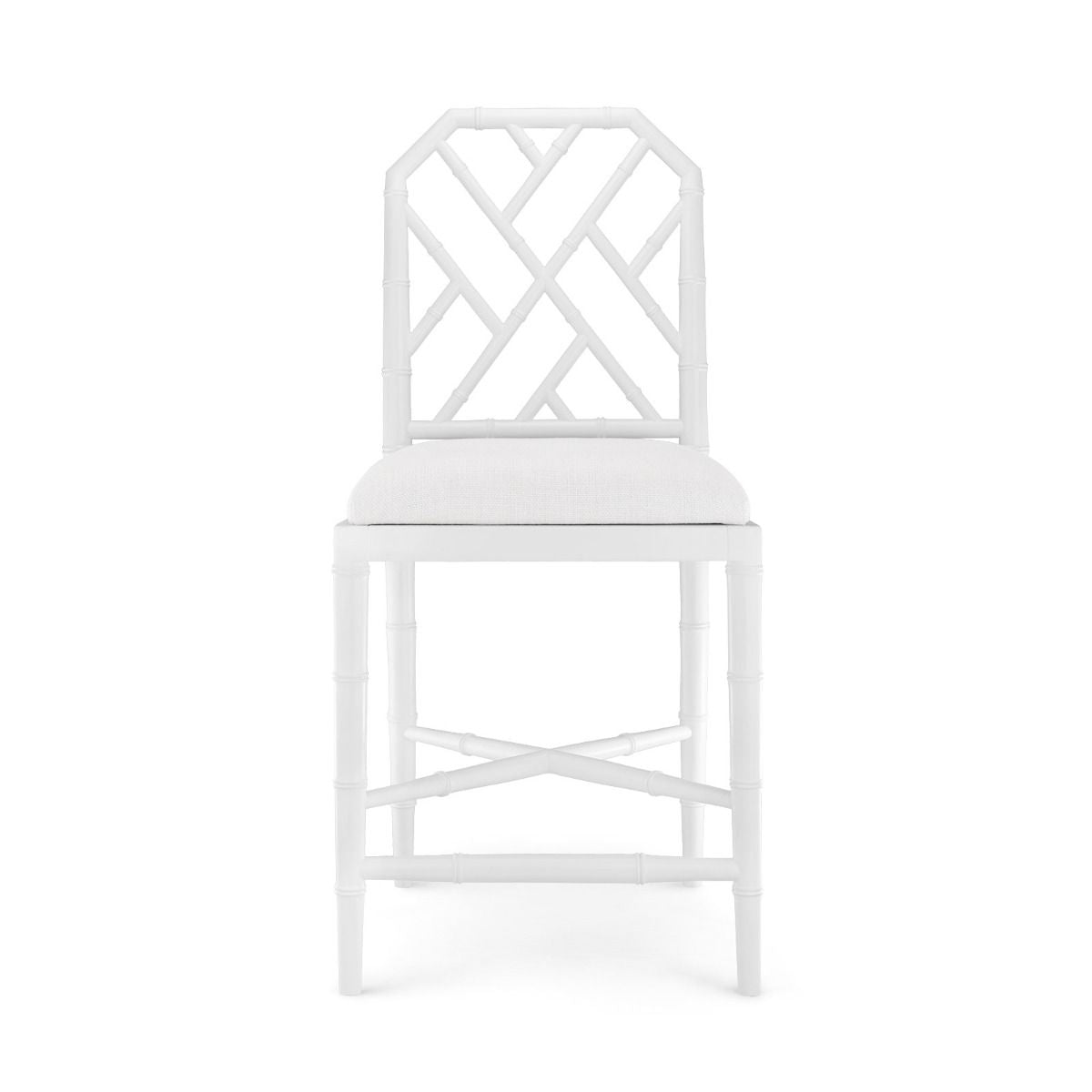 bungalow 5 jardin counter stool white front