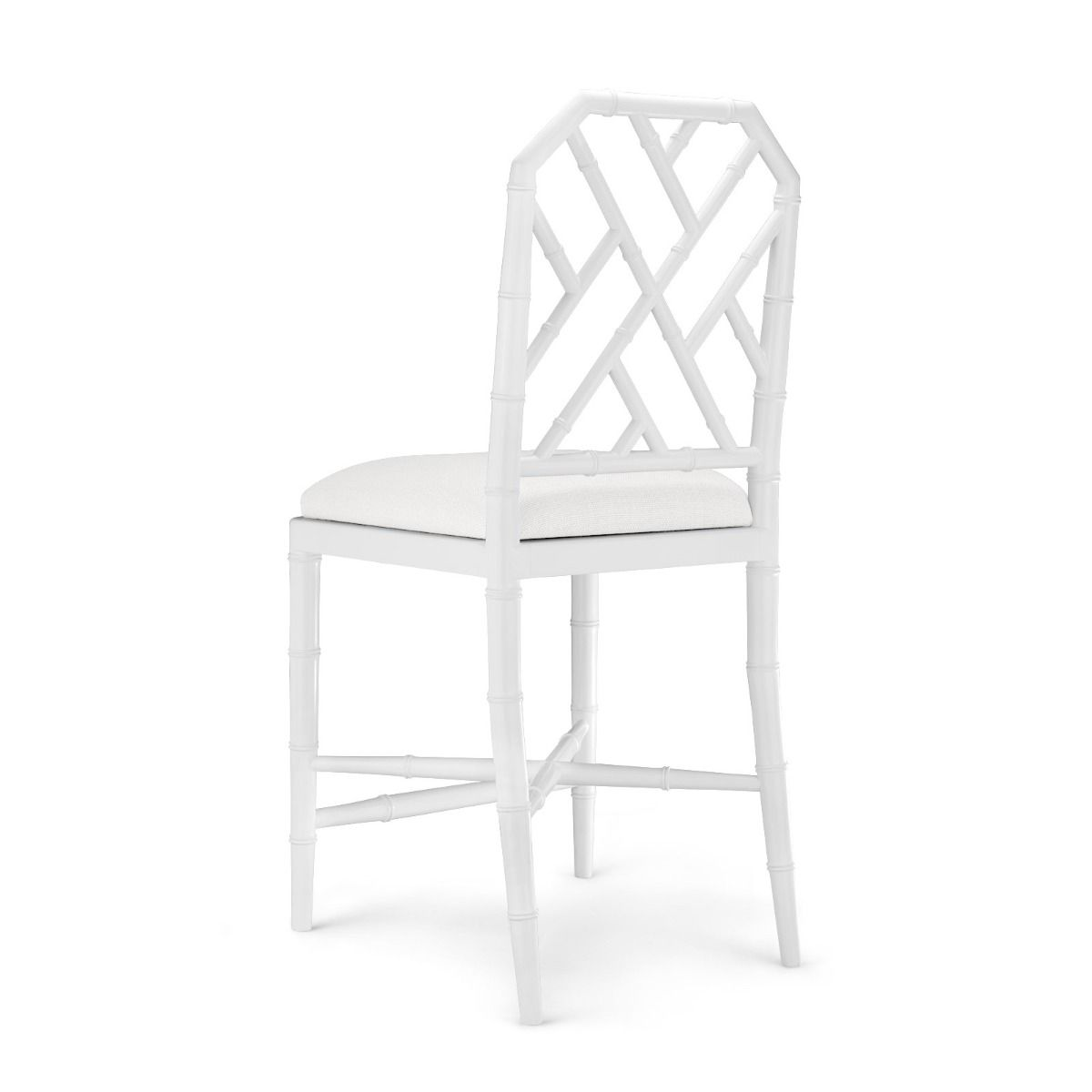 bungalow 5 jardin counter stool white angle