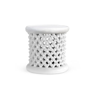bungalow 5 kano side table white