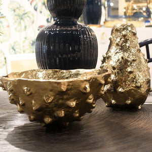 bungalow 5 kiwano large bowl polished brass