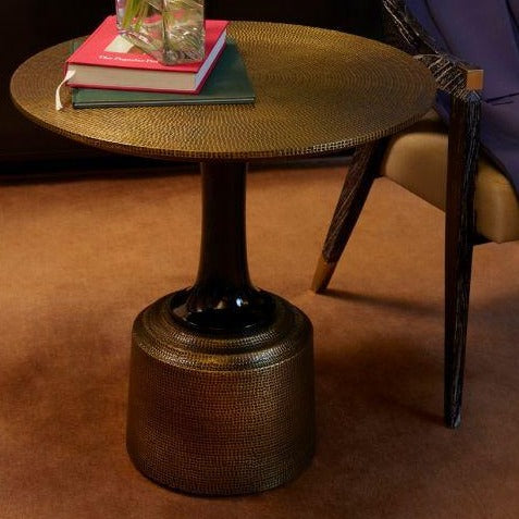 bungalow 5 klein accent table styled