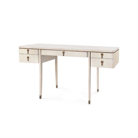 bungalow 5 lanna desk bleached oak