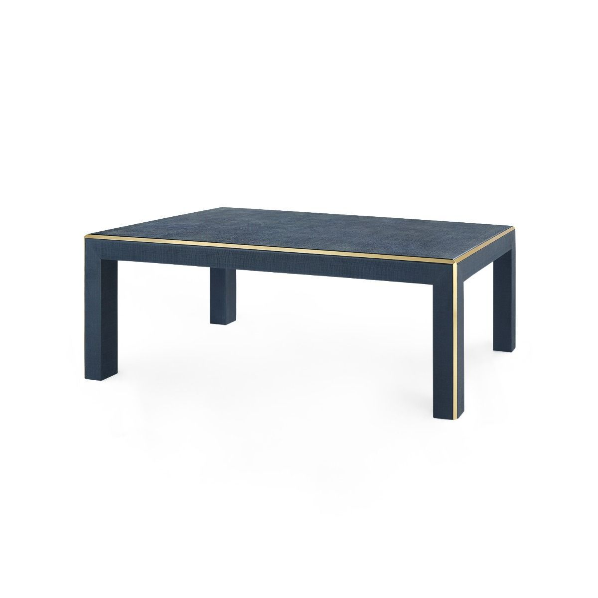 bungalow 5 lauren coffee table navy angle