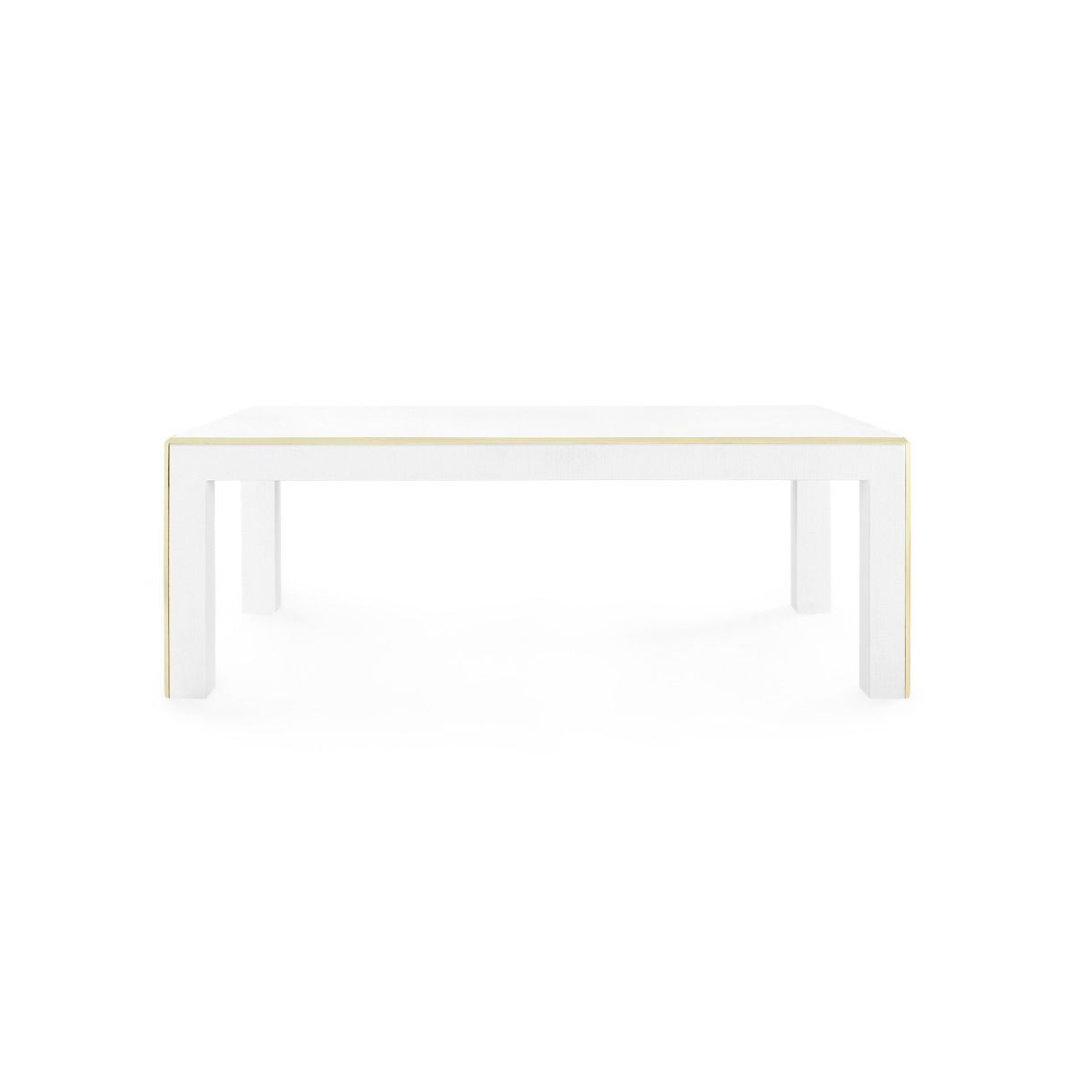 bungalow 5 lauren coffee table white