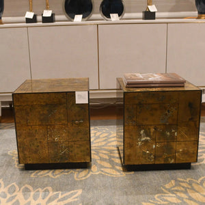 bungalow 5 leger side tables gold