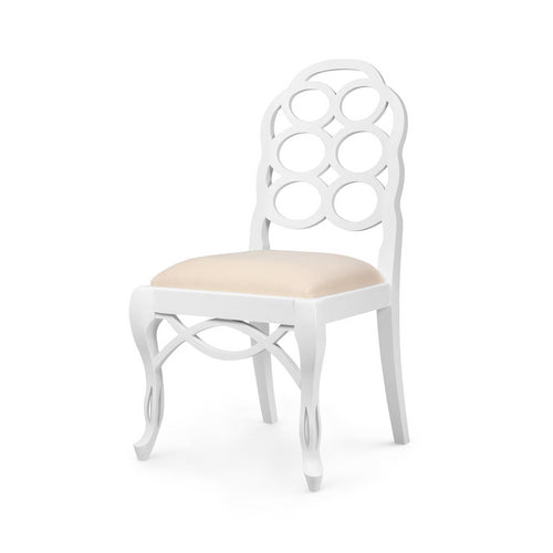 bungalow 5 Loop Side chair white