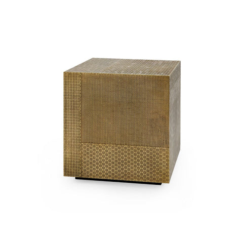 bungalow 5 majorel side table antique brass