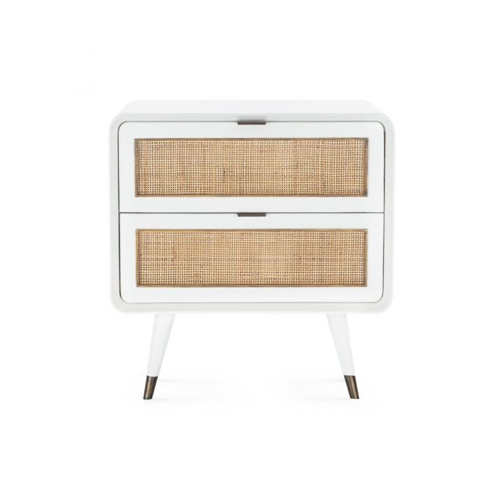 bungalow 5 malmo side table white