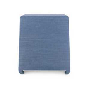 Bungalow 5 Ming 2 Drawer Side Table Navy Blue MNG-120-68