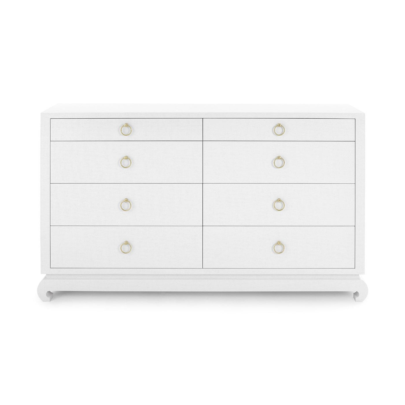 Bungalow 5 Ming Extra Large White Lacquered Grasscloth