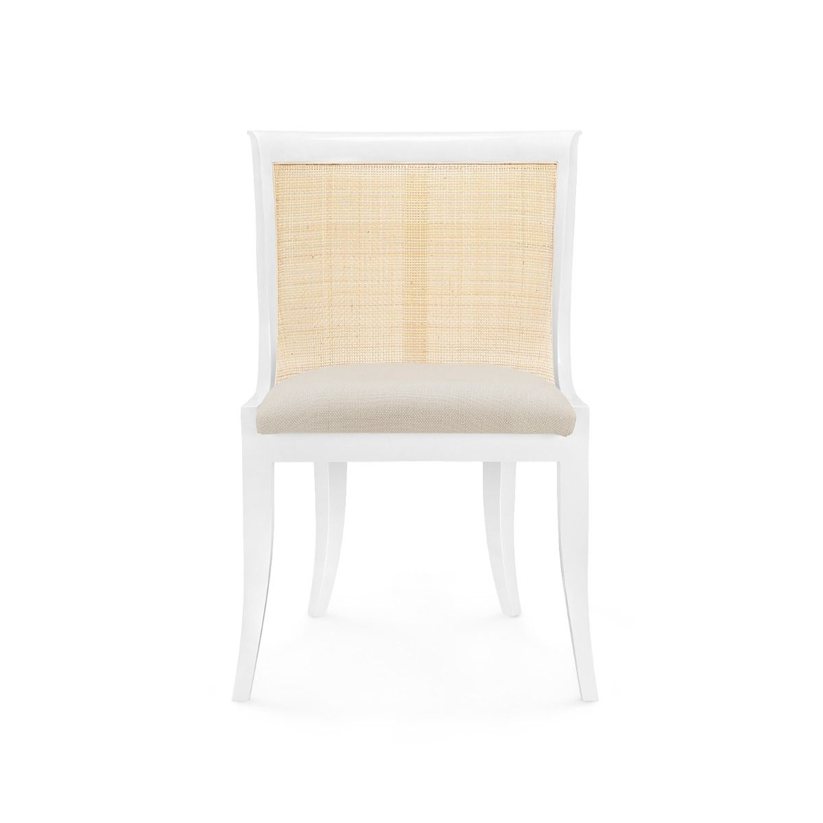 bungalow 5 monaco armchair white