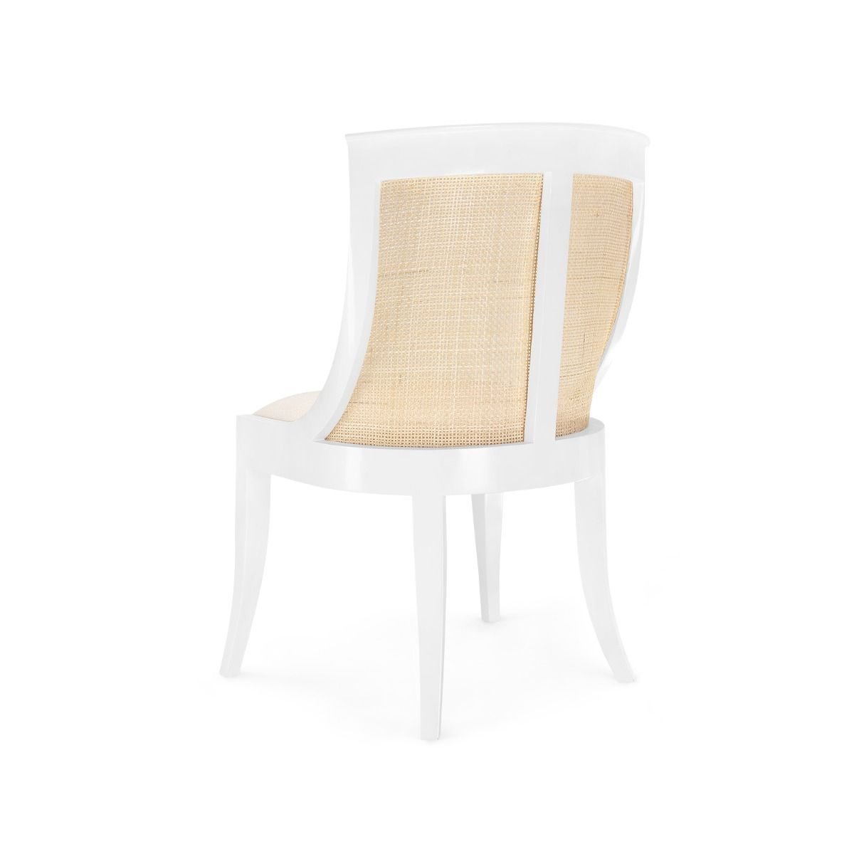 bungalow 5 monaco armchair white back