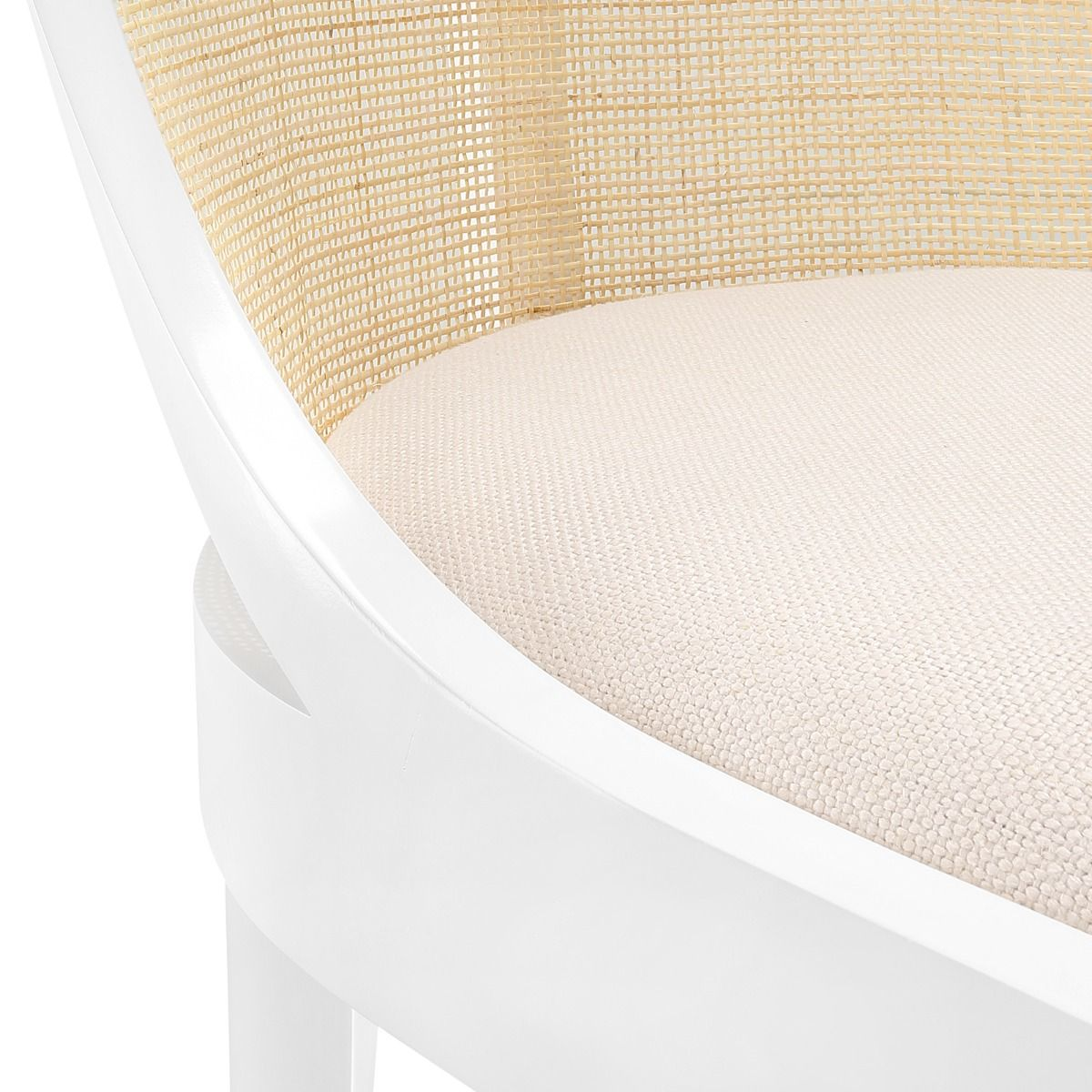 bungalow 5 monaco armchair white cushion