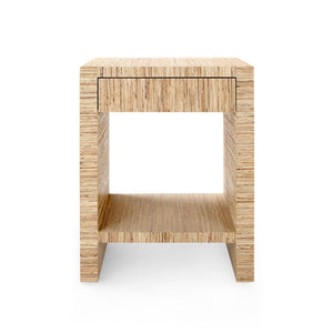 bungalow 5 morgan 1 drawer side table natural