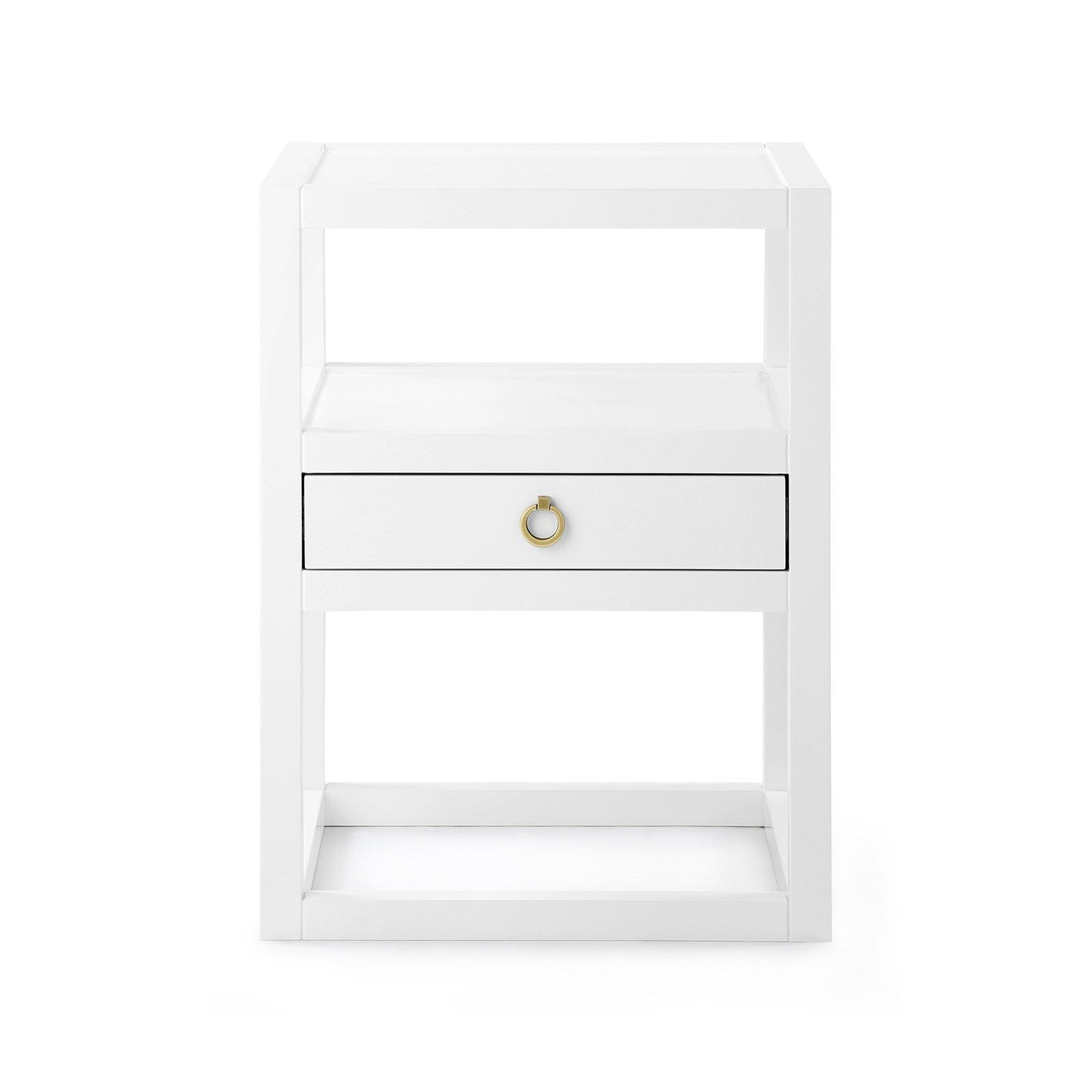 bungalow 5 newport one drawer side table