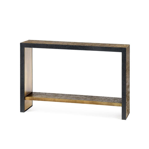 bungalow 5 odeon console antique brass