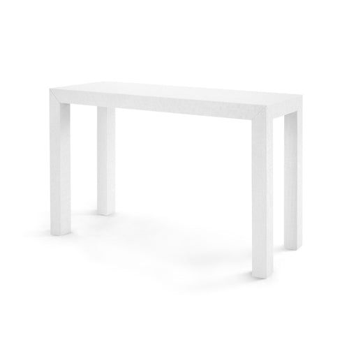 bungalow 5 parsons console table white PSN-400-59 console, console table, console tables, media console, console table with storage, long console table, modern console table, console living room, white console table, narrow console table,