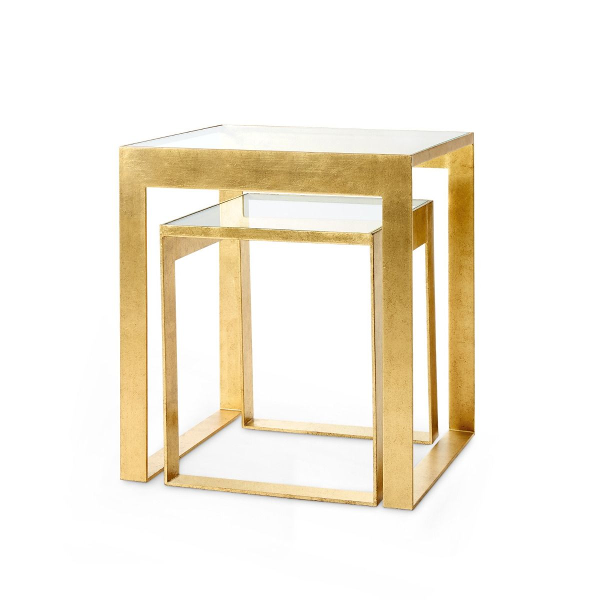bungalow 5 plano side table gold