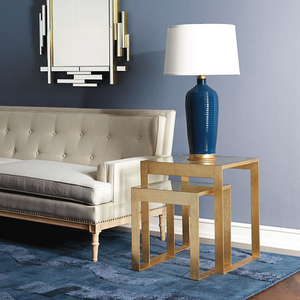 Plano Side Table Gold