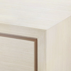 bungalow 5 stanford one drawer side table blanched oak corner