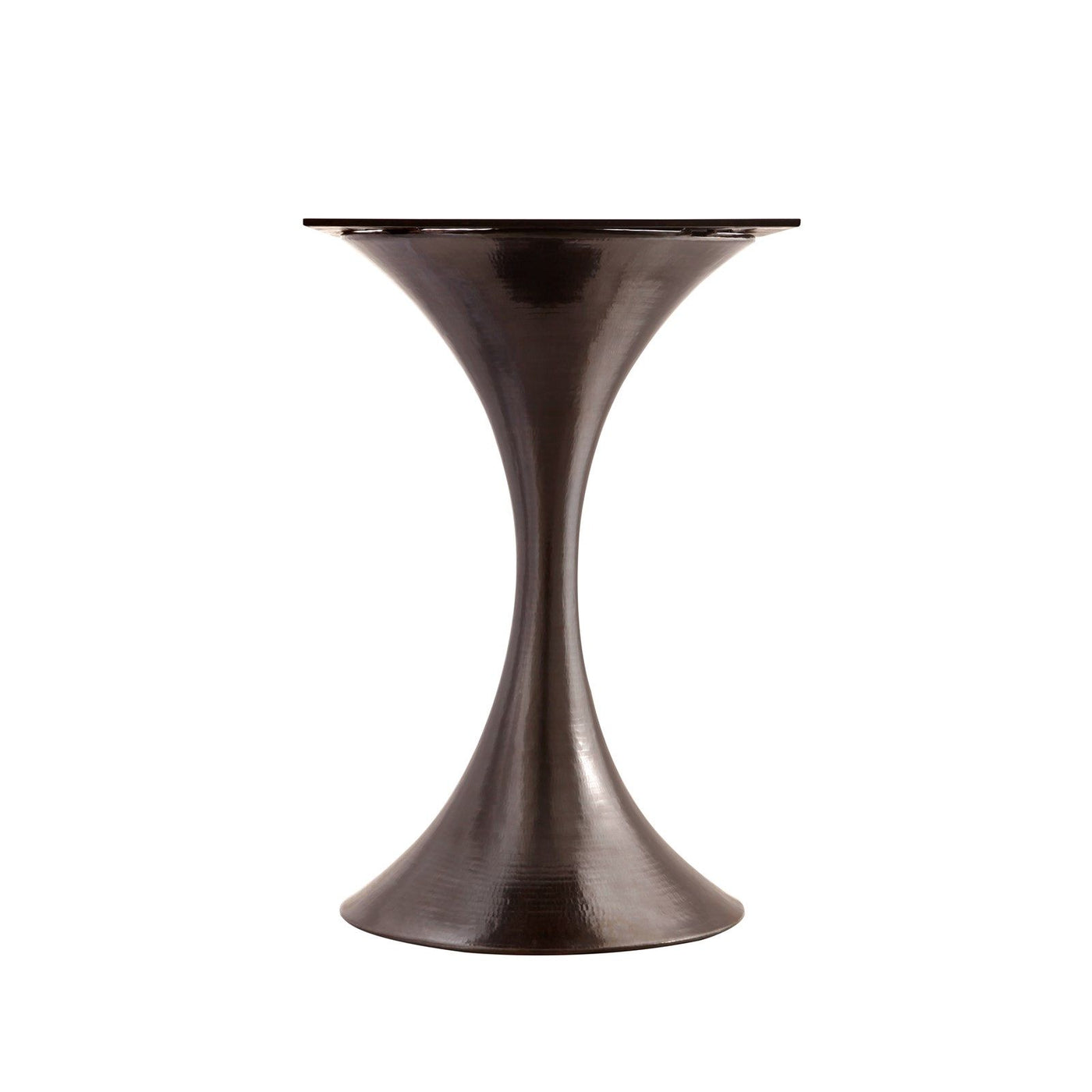 bungalow 5 stockholm center table bronze  and white marble base