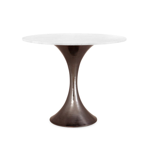 bungalow 5 stockholm center table bronze  and white marble