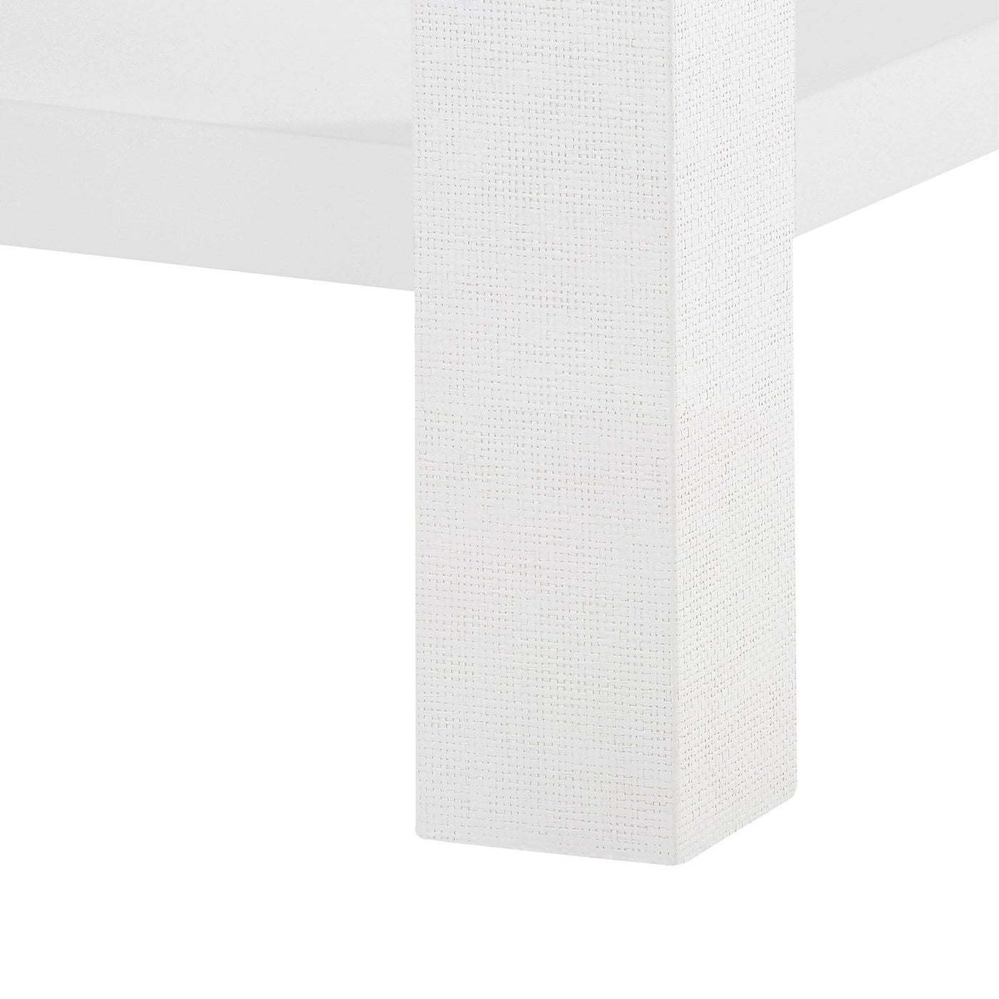 made goods valentina 1 drawer side table white leg