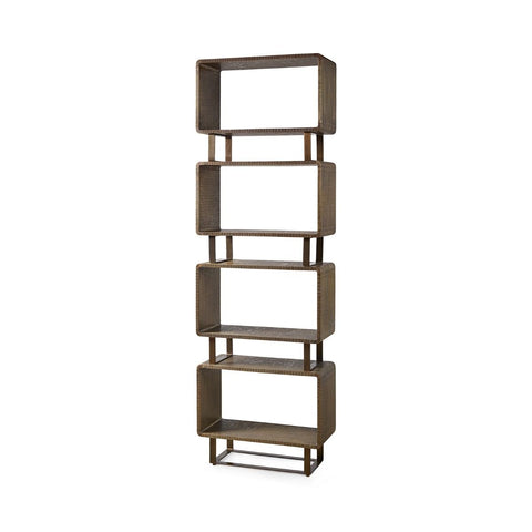 bungalow 5 verra etagere antique brass