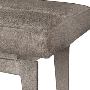 bungalow 5 winston hair in hide stool cushion