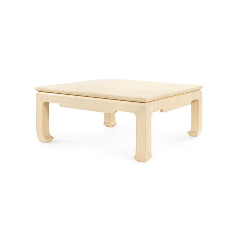 bungalow 5 bethany large square coffee table natural