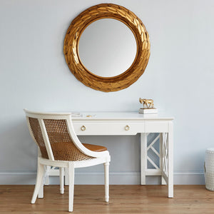 bungalow 5 athena mirror gold leaf