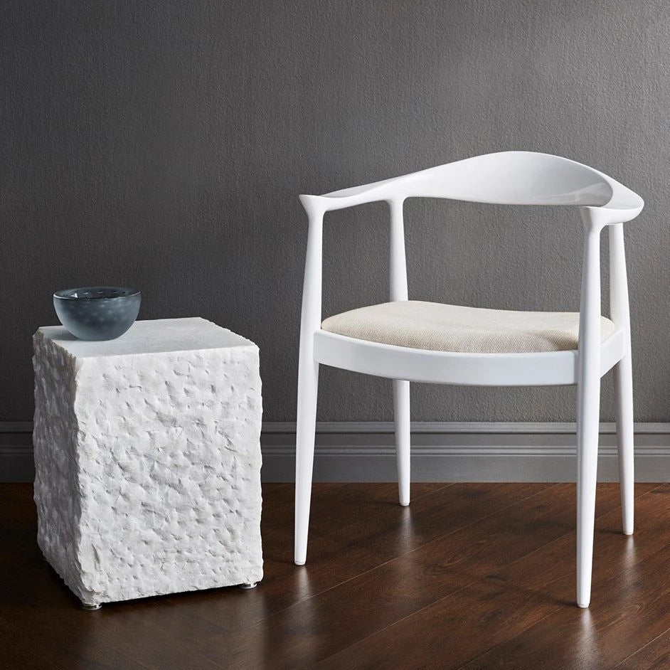 bungalow 5 danish armchair by white side table