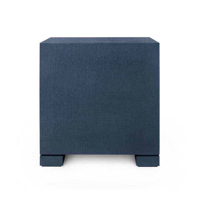 bungalow 5 frances back side table navy blue