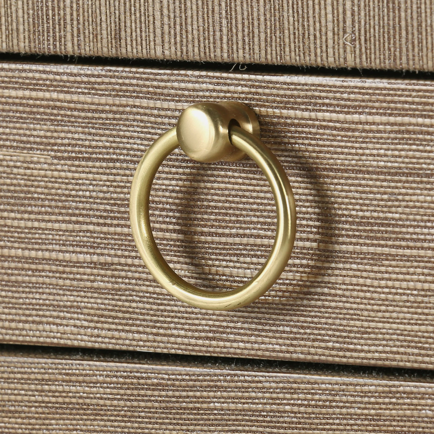 bungalow 5 ming 2 drawer side table gold ring pull