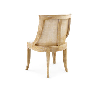 bungalow 5 monaco chair natural limed oak back