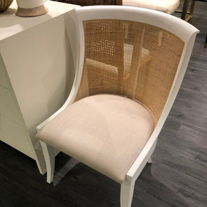 bungalow 5 monaco armchair white showroom