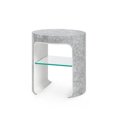 bungalow 5 carrel side table gray